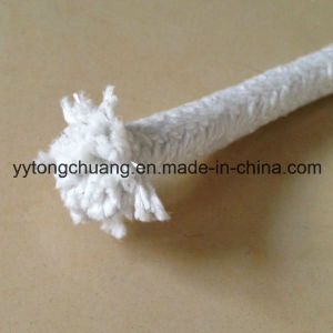 High Temp. Heat Resistance Ceramic Fiber Braided Round Sealing Rope pictures & photos