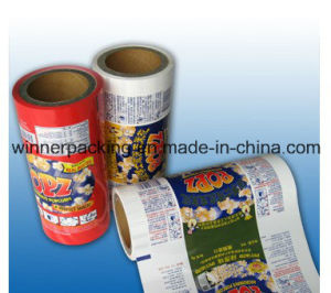 Metallized Plastic Laminated Roll Film with Aluminium Foil