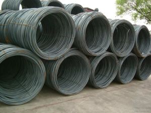 Factory Hot Rolled Galvanized 6.5 Steel Wire Rod pictures & photos