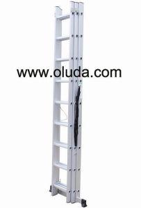 Triple Ladder/ Aluminium Extension Ladder (With EN131 Warranty)