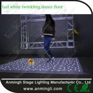 White LED Flicker Dance Floor