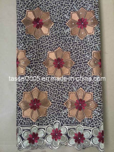 Fashion African Fabrics 100% Cotton Swiss Voile Lace pictures & photos