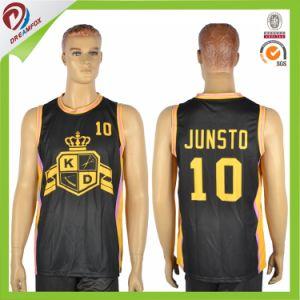 Sublimation Custom Basketball Jersey Uniform Design for Men pictures & photos