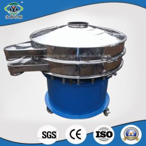 Mobile High Frequency Circular Vibrating Sieve for Cocoa Beans (XZS1000-2) pictures & photos