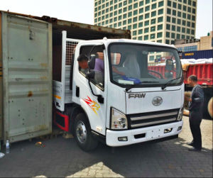 FAW Dongfeng 4X2 Drive Wheel Euro2 130HP Light Truck pictures & photos