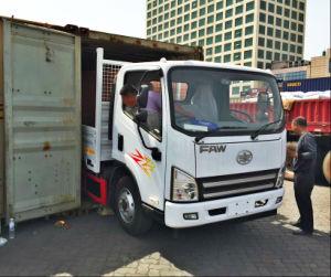 FAW Isuzu cabin 4X2 7 Ton Light Duty Cargo Van pictures & photos