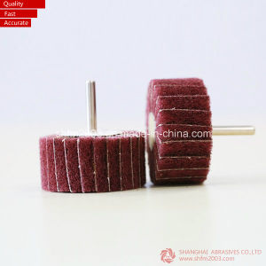 Aluminum Oxide Abrasives Flap Wheel with Shaft (Klingspor) pictures & photos