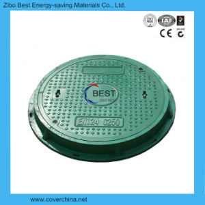700mm Round C250 Resin Composite Manhole Cover with Lock pictures & photos