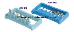 Plastic Blue Color Dental Bur Block pictures & photos