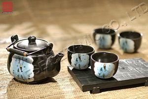 Stoneware Ceramic & Tableware Porcelain Teapot Giftware Sets (TP-445)