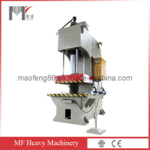 Yl41-100 Single-Column Hydraulic Straightening and Mounting Press