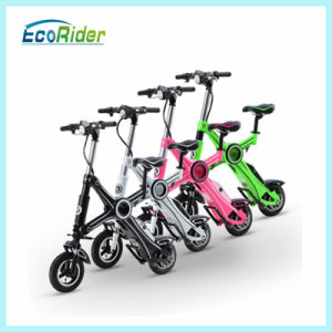 Folding Electric Bike Brushless 250W Lithium 36V Used E-Bicycle pictures & photos