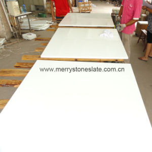 Crystallized Glass Panel/ White Marble/Flooring, Millenstone