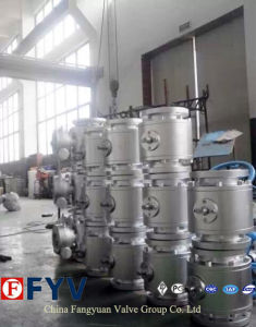 ANSI Turbine Cast Steel Trunnion Mounted Ball Valve pictures & photos