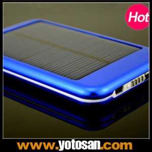 5000mAh Mobile Cell Phone Portable Solar Phone Chargers pictures & photos