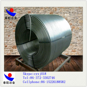 Chinese Factory Supply Calcium Silicon Cored Wire in Good Qualtity pictures & photos