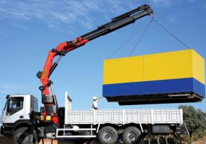 China Best Straight Arm Truck-Mounted Crane of 25 Ton pictures & photos