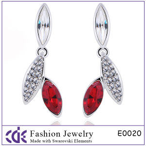 Newest Design Crystal Earrings (E0020)