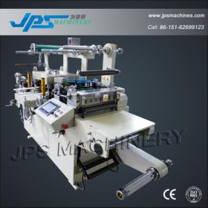 Barcode Label Die Cutter Machine with Laminatio+Punching+Hot Stamping pictures & photos