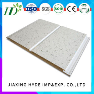 7*250mm Interior Material PVC Panels for Wall and Ceiling with Hot Stamping pictures & photos