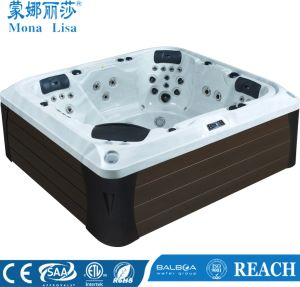Monalisa Luxury Special Design Outdoor Whirlpool Massage SPA (M-3388) pictures & photos