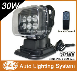 30W CREE LED Search Work Lamp (PD630L-H)
