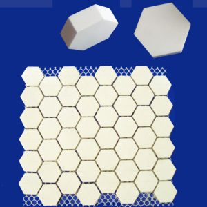 Alumina Tile Kit Alumina Ceramic Hexagonal Mats for Abrasion Resistance pictures & photos