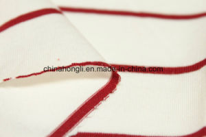Modal/Cotton 50/50, 140GSM, Stripe Single Jersey Knitting Fabric with High Quality pictures & photos