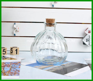 150ml Home Docor Aroma Diffuser Glass Bottle with Wooden Cork pictures & photos