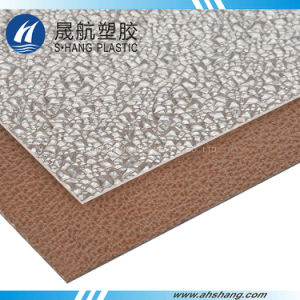 Dark Bronze Embossed Poly Carbonate Diamond Sheeting pictures & photos