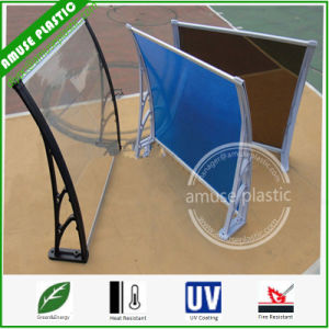 DIY Awning, Door Window Shutter, Polycarbonate Garden Shade Shed Awning. pictures & photos
