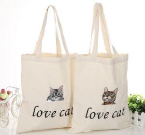 Reusable Shopping Bag Canvas Cotton Tote Bags Carry Bag pictures & photos