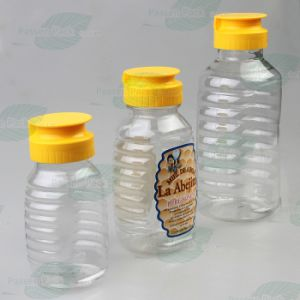 500g Pet Plastic Honey Bottle with Silicone Valve Cap (PPC-PHB-01) pictures & photos