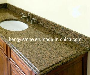 Tropical Brown Pre Cut Granite Countertops with Flexible Countertop ...