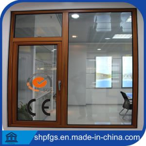 High Quality Europen Style Aluminum Clad Wood Window
