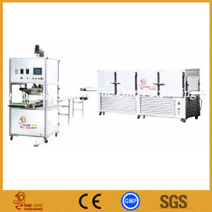 Towf50 + Tocm-25 Shanghai Port Wax Filling Line/China Factoryhot Filling Machine/High Quality Cooling Tunnel pictures & photos