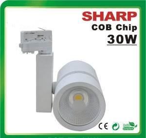 2/3/4 Wire Structure Dimmable COB LED Track Light pictures & photos