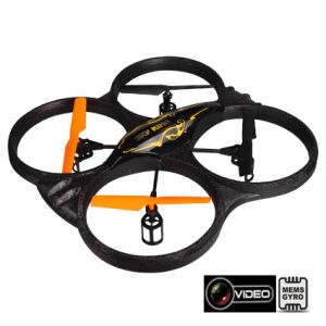 33cm HD Camera 2.4G 4-Axis 4.5CH RC Quadcopter UFO with Mems Gyro