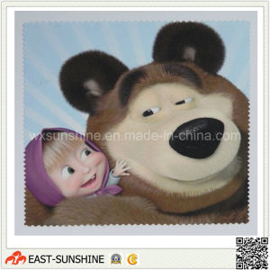 100%Microfiber Cute Lens Cleaning Cloth (DH-MC0347) pictures & photos