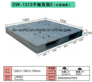 Standard Export Warehouse Rack Plastic Pallet pictures & photos