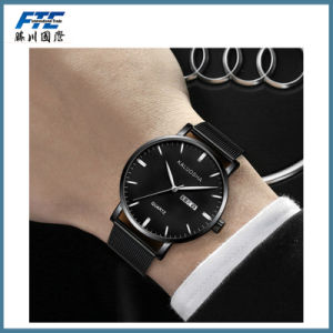 Fashion Simple Design Men Watch in Black pictures & photos