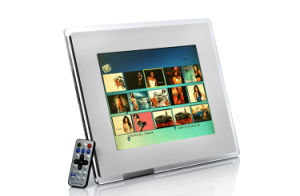 12 Inch Digital Photo Frame with Transparent Acrylic pictures & photos