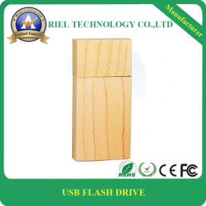 Bamboo or Wood USB Flash Drive