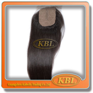 Brazilian Silk Base Closure 5*5 with Good Feedback pictures & photos