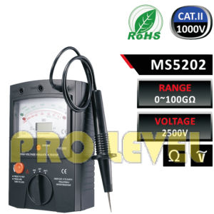 Profession High Voltage Analog Insulation Tester pictures & photos