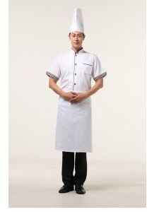 Hotel Chef Work Uniforms for Summer Ll-C02 pictures & photos