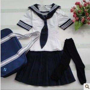 New School Uniform for Girls About Shirt and Skirt -Ll-30 pictures & photos