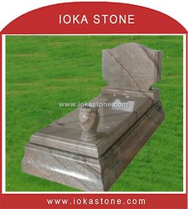 Multicolor Granite Tombstone & Monument