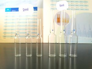 5ml Clear Ampoule Made of Low Borosilicate Glass for Medicine Use pictures & photos