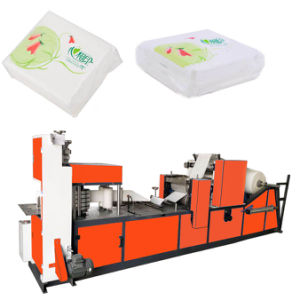 Table Napkin Packing Machine Serviette Making Machine pictures & photos